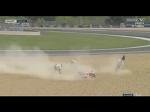 Синхронное падение Марка Маркес и Андреа Довициозо на Гран-при Франции