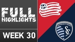 HIGHLIGHTS: New England Revolution 3-1 Sporting Kansas City