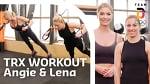 TRX Workout mit Angelique Kerber und Lena Gercke | Trainingshelden