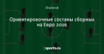 Ориентировочные составы сборных на Евро 2016