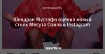 Шкодран Мустафи оценил новый стиль Месута Озила в Instagram