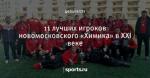 11 лучших игроков новомосковского «Химика» в XXI веке