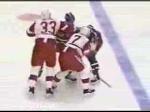 Probert vs Domi, Red Wings at Rangers Feb 9, 1992