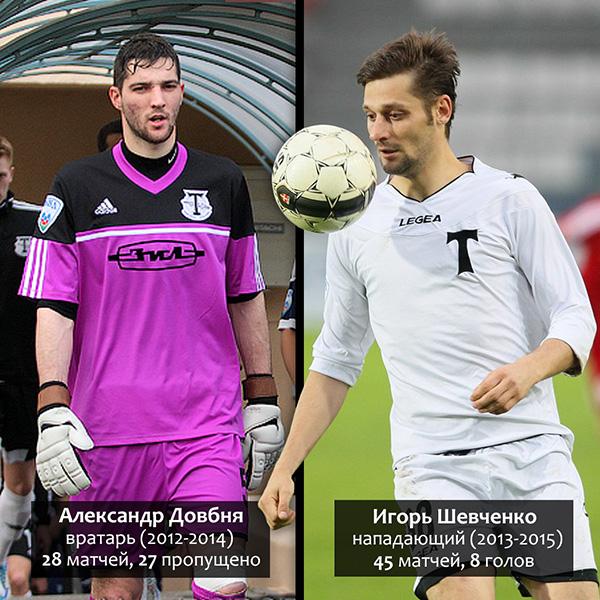 Александр Довбня и Игорь Шевченко - бывшие игроки Торпедо сумели сыграть ключевую роль в своих нынешних клубах в борьбе за РФПЛ
