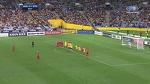 Попадание в штангу на 121-й минуте матча лишило сборную Сирии путевки на ЧМ-2018