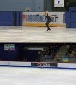 r/FigureSkating - Je suis Juliette - synchronized side by side old/new Daria Usacheva's programs
