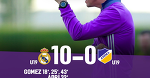 Реал Мадрид - АПОЭЛ 10-0. Юношеская лига УЕФА