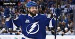 Кучеров – 8-й игрок в истории НХЛ, сделавший 3+ передачи в 8+ матчах плей-офф