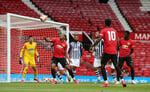 «Юнайтед» провел тренировочные матчи с «Вест Бромом»