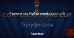 Превью 1/2 Кубка конфедераций