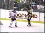 Craig MacTavish vs Mario Lemieux Line Brawl - Mar.17,1992