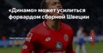 «Динамо» может усилиться форвардом сборной Швеции
