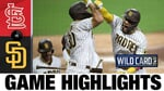 Tatis Jr., Myers each homer twice to force Game 3   Cardinals-Padres Game 2 Highlights 10/1/20