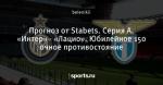 Прогноз от Stabets. Серия А. «Интер» - «Лацио». Юбилейное 150 очное противостояние