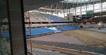 На московском стадионе «Динамо» устанавливают кресла