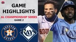 Houston Astros vs. Tampa Bay Rays Game 2 Highlights   ALCS (2020)