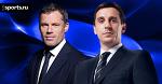 Невилл пошутил над Каррагером во время эфира на Sky Sports
