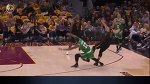 Marcus Morris Offensive Foul During Three-Point Attempt On Kevin Love vs Cavaliers / Game 4