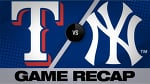 Sanchez, Paxton star in rout of Rangers | Rangers-Yankees Game Highlights 9/3/19