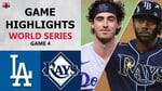 Los Angeles Dodgers vs. Tampa Bay Rays Game 4 Highlights   World Series (2020)