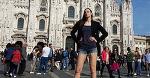 У русской баскетболистки – самые длинные ноги в мире