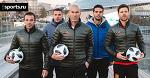 Месси, Зидан и Дель Пьеро в Москве. Мощнейшая футбольная туса