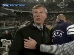 Sir Alex Ferguson swearing and angry after horror challenge