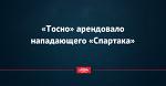 «Тосно» арендовало нападающего «Спартака»