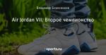 Air Jordan VII. Второе чемпионство