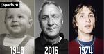 Йохан Кройфф - от 1 года до 68 лет