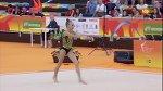 Khrystyna Pohranychna. 2018 European Rhythmic Gymnastics Championships. Clubs