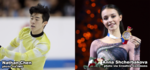 Figure Skaters Nathan Chen, Anna Shcherbakova Named Academy March Athletes of the Month