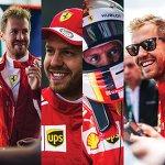 "Scuderia Ferrari on Instagram: ""Happy Birthday Seb! #🎉 #❤️ #ScuderiaFerrari #Seb5 #SF71H #F1 #Ferrari #PrancingHorse"""
