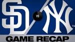 5/28/19: Hosmer, bullpen lift Padres over Yankees