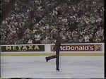 Brian Orser CAN - 1987 World Championships SP