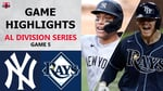 New York Yankees vs. Tampa Bay Rays Game 5 Highlights   ALDS (2020)