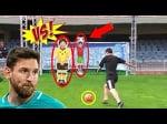 Lionel Messi vs Robot Gigante, Robot Portero, Robokeeper,, Goalkeeper Robot y Más