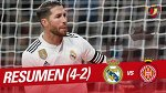 Resumen de Real Madrid vs Girona FC (4-2)