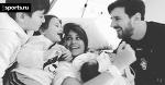 Счастливая семья Месси в полном составе