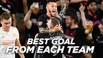 Best Goal for Each Team in 2018