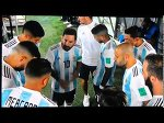 Messi team talk