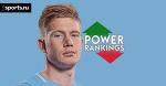 Рейтинг лучших 50 игроков АПЛ. Лидер уикенда — Кевин де Брюйне