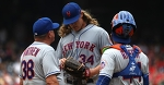 Noah Syndergaard headed to DL with partial tear in lat muscle