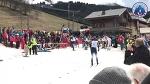 Arrivée 10 km libre hommes - 64e Championnat des douanes alpines