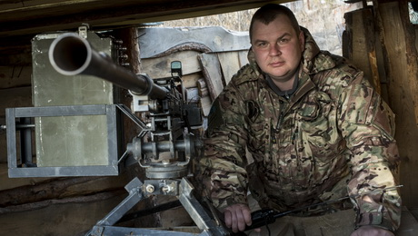 Дмитрий Булатов: «Осколок углубился только на 5 см – лишний вес помог»