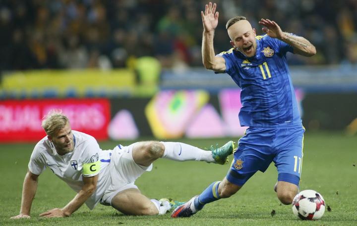 квалификация ЧМ-2022, сборная Финляндии по футболу, Сборная Украины по футболу