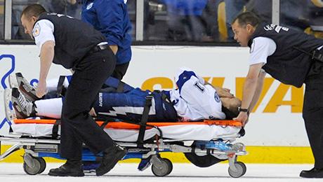 20 самых страшных хоккейных травм