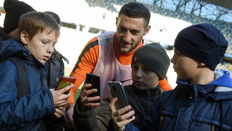 Лучшее приложение об украинском футболе