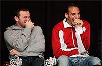 фото, премьер-лига Англия, Уэйн Руни, Рио Фердинанд, Манчестер Юнайтед