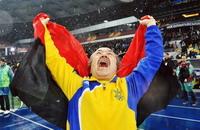 сборная Украины по футболу, Днепр, Сборная Испании по футболу, фото, Арена Днепр